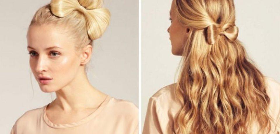 Как сделать бант из волос: пошаговая инструкция